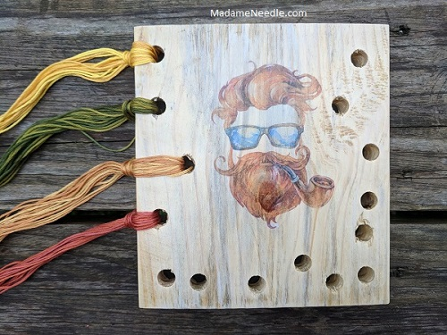 Charles-the Smoker-thread organizer by Madame Needle