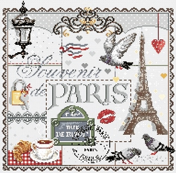 Souvenir of Paris by Madame la Fee
