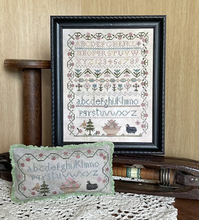 From the Heart - NeedleArt by Wendy Black sheep sampler