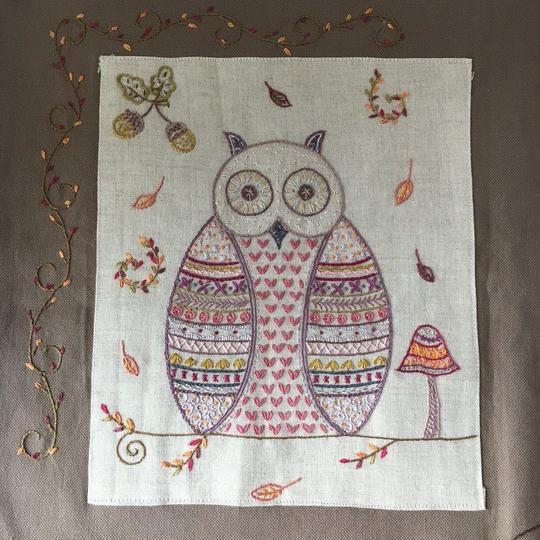 Un Chat Dans L'alguille Autumn owl