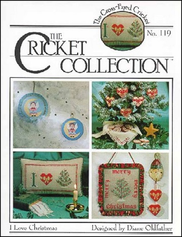Cross-Eyed Cricket I love Christmas