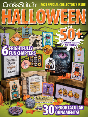 2021 Just Cross Stitch Halloween Special Collector's Issue