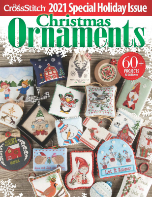 2021 Just Cross Stitch Christmas Ornaments Special Collector's Issue