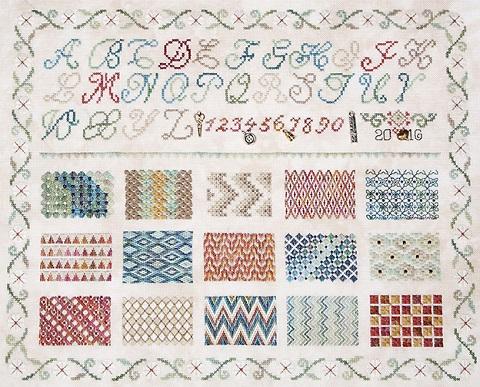 Jeannette Douglas Designs Learning Stitches