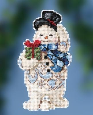 Jim Shore JS202011 Gift Giving Snowman