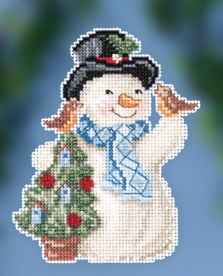 Jim Shore JS202012 Feathered Friends Snowman