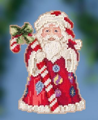Jim Shore JS202016 Candy Cane Santa