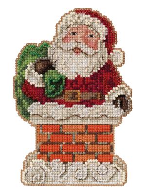 Jim Shore JS202112 Santa in Chimney