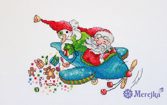 Christmas flight,K-113,by Merejka