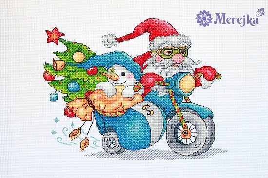 Christmas Racing,K-121,by Merejka