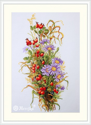 Wildrose Berries,K-126,by Merejka
