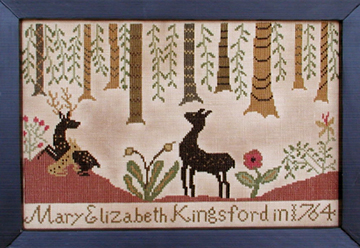 KIngsford Sampler by Carriage House Samplings