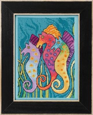 Laurel Burch LB302114 Sea Horses