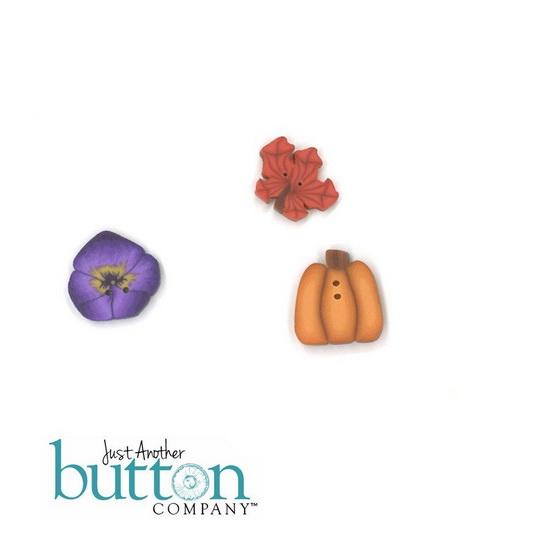 BUTTON PACK - LITTLE ACORNS - Praiseworthy Stitches