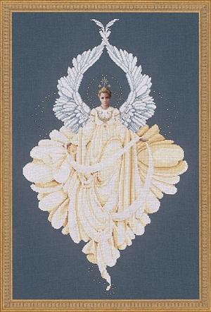 Lavender & Lace Peace Angel-LL43