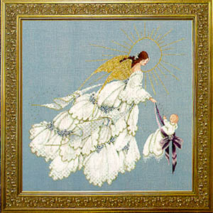 Angel of Mercy II-LL52-Lavender and Lace