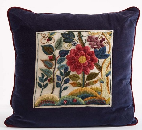 The Crewel Work Company Lady Anne's flowers