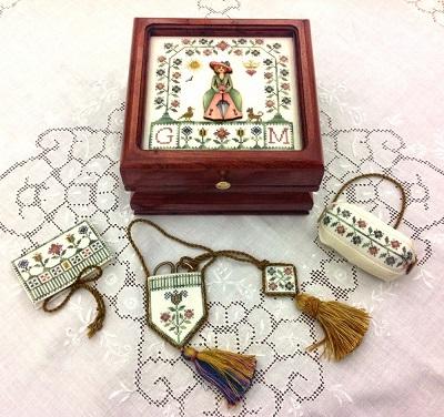 Giulia Punti Antici Lady Giulia Sewing Box
