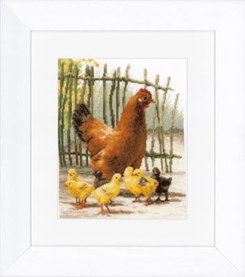 Chickens by Lanarte
