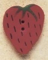 Debbie Mumm Buttons - 43176 - Large Strawberry