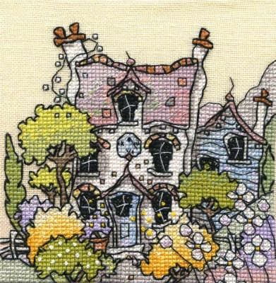 Michael Powell Art Lavender Cottage - MPCP112