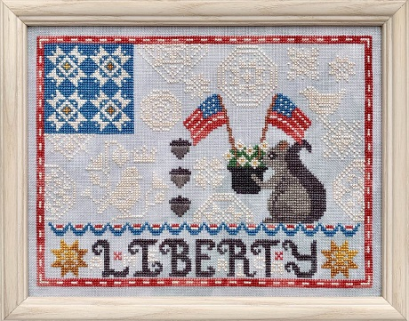 Luminous Fiber Arts Liberty Quaker