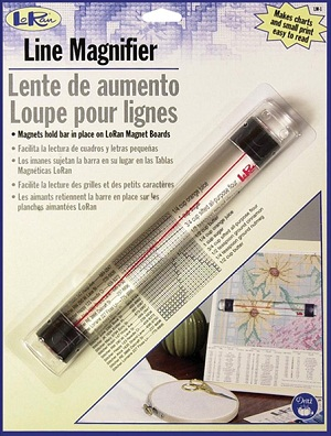 Magnetic line magnifier by Lo Ran