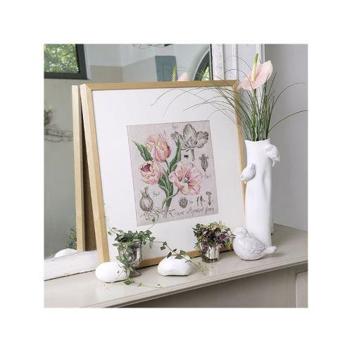 Les Brodeuses Parisiennes - Linen Tulip Study (maxi-pattern)
