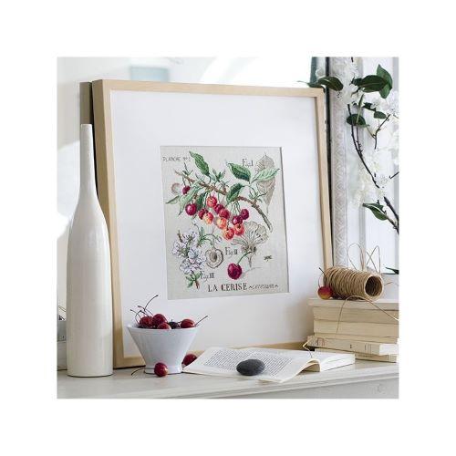 """Les Brodeuses Parisiennes - Linen """"Cherry"""" Study (maxi pattern)"""