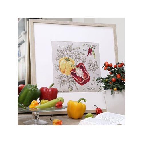 Les Brodeuses Parisiennes - Linen Pepper Study (maxi pattern)