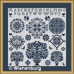 Vierlanden Sampler Lisa by Stickideen Von Der Wiehenburg