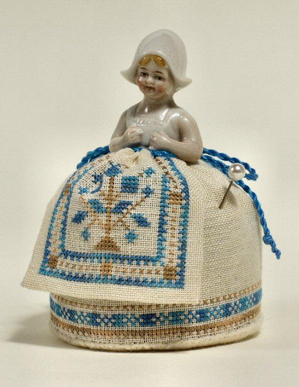 A Little Dutch Pincushion Doll by Giulia Punti Antichi