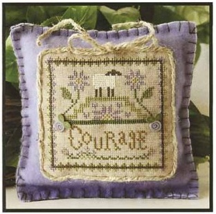 Courage by Little house of Needlework