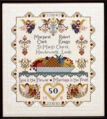 Moira Blackburn Anniversary/Wedding Sampler