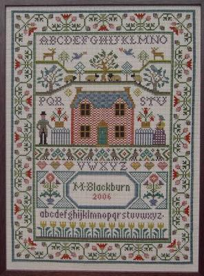 Moira Blackburn Country Cottage Sampler