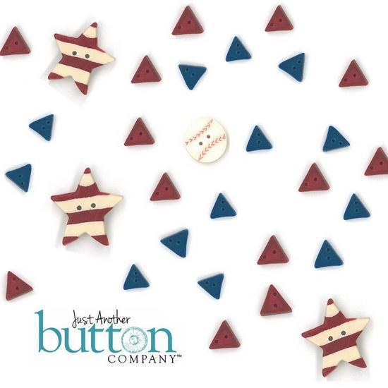BUTTON PACK - MEMORIAL PARK - Praiseworthy Stitches