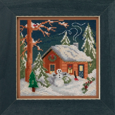 Christmas Cabin,MH141834,Mill Hill