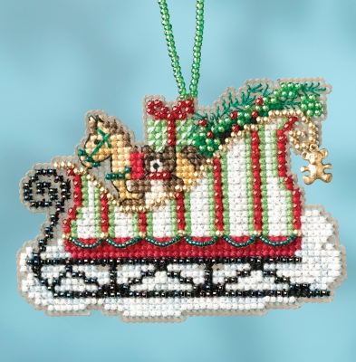 Toyland Sleigh,MH161733,Mill Hill