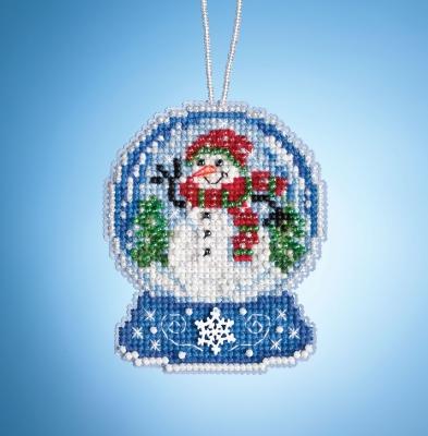 Snowman Globe,MH161933,Mill Hill