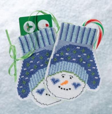Snowman mittens,MH191831,Mill Hill