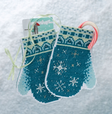 Snowflake mittens,MH191832,Mill Hill