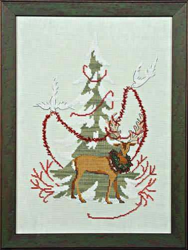 Nora Corbett Christmas Tree 2011 (w/beads & floss)