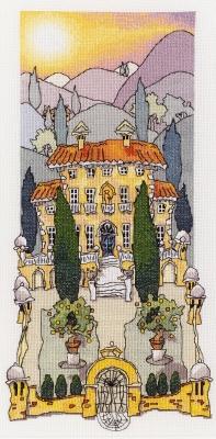 Michael Powell Art Tuscan Gardens I-MPKX24