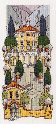 Michael Powell Art Tuscan Gardens II-MPKX25