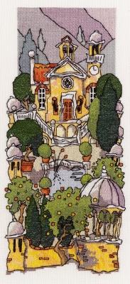 Michael Powell Art Tuscan Gardens III-MPKX26