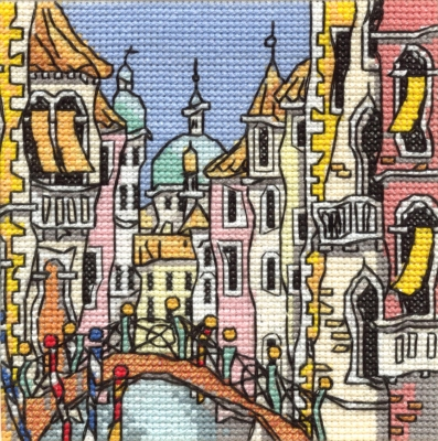 Michael Powell Art Mini Venice Bridge I-MPKX52