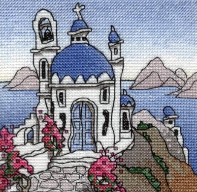 Michael Powell Art Mini Greek Island I-MPKX57