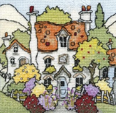 Michael Powell Art Mini Myrtle Cottage-MPKX83