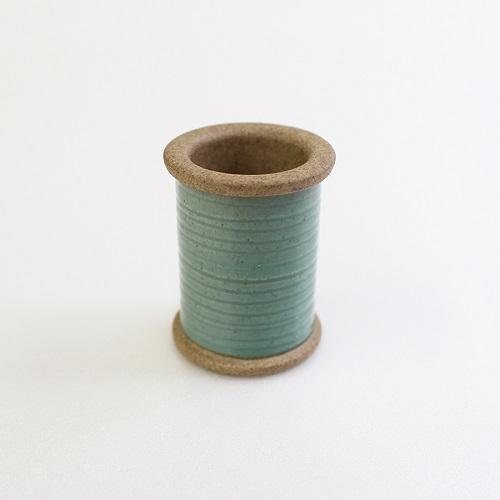 Magnetic Spool of Hasami Ware (GREEN)