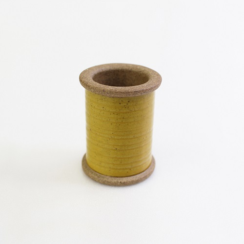 Magnetic Spool of Hasami Ware (Yellow)